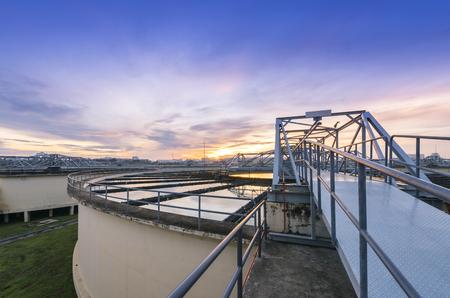 El sólido Tipo de contacto del tanque clarificador de recirculación de fangos en la Planta de Tratamiento de Agua