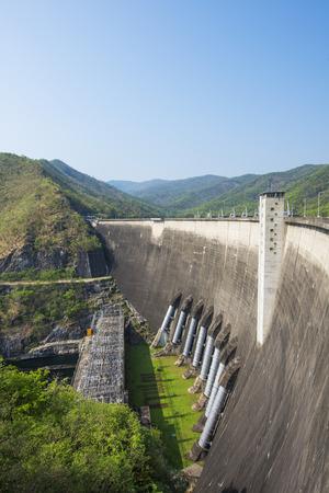 Bhumiphol dam, Tak, thailand