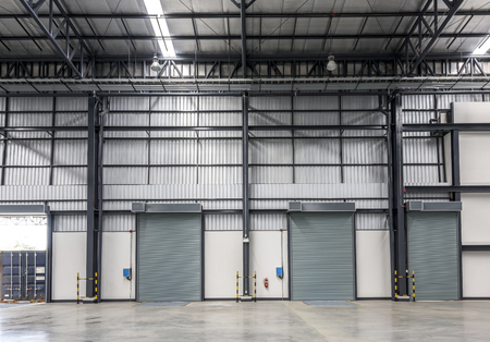 experienced operator: warehouse in a factory