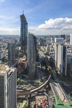 De stad van Bangkok, Thailand