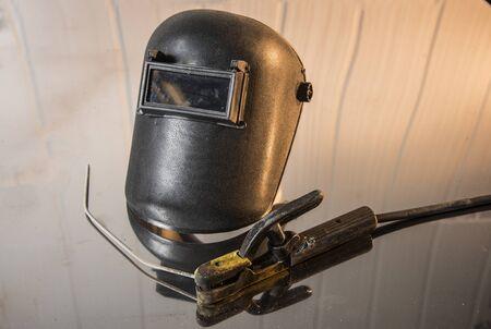 Welding Mask Reklamní fotografie - 50248456
