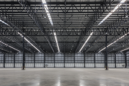 Large modern warehouse
