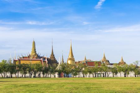 Wat Phra Kaeo, Tempel van de Emerald Buddha, Bangkok, Thailand