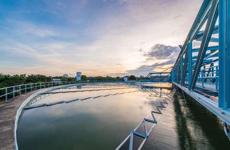 water treatment plant Foto de archivo