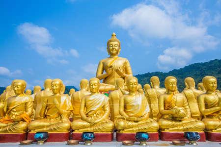 Buddha statue in thailand Stock Photo - 18656894