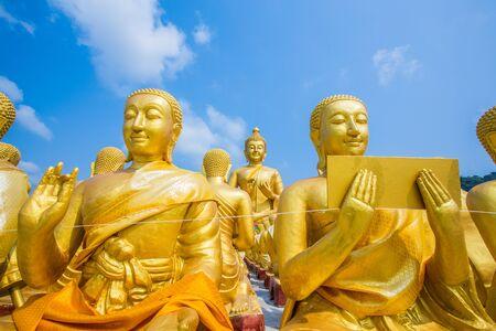 Buddha statue in thailand Stock Photo - 18656913