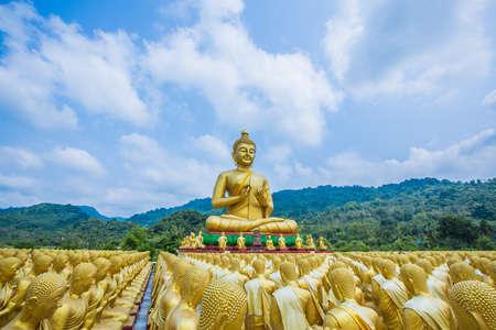 Buddha statue in thailand Stock Photo - 18656898