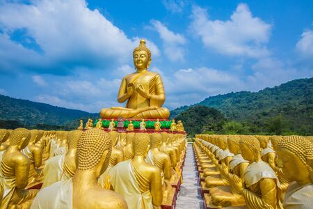 Buddha statue in thailand Stock Photo - 18657025