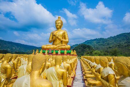Buddha statue in thailand Stock Photo - 18657025