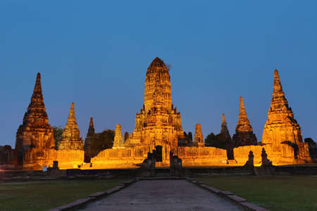ayutthaya in thailand Stock Photo - 18667233