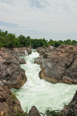 Khone Phapheng Waterfall, Southern Laos Stock Photo - 18854256