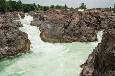 Khone Phapheng Waterfall, Southern Laos Stock Photo - 18854259