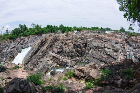Khone Phapheng Waterfall, Southern Laos Stock Photo - 18854263