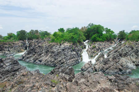 Khone Phapheng Waterfall, Southern Laos  Stock Photo - 18854264