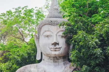 buddha watpasawangboon in thailand. Stock Photo