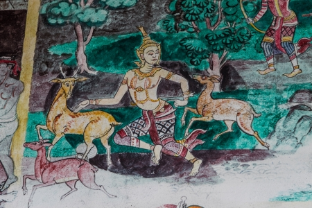 Mural Measured in the literature on the subject of Thailand.