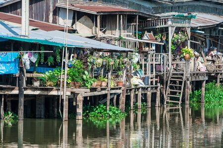 Lifestyle waterfront homes in Chachoengsao Thailand photo