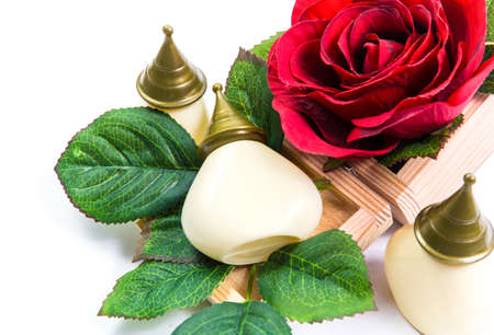 Massage with aromatic rich fragrance. Of flowers and herbs.