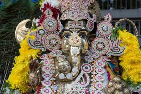 Navratri 2013 festival to worship God in Thailand photo