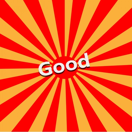 Good Vector Illustration. Stock Vector - 23087727
