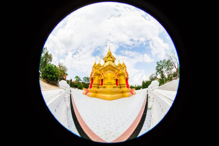 Wat Chedi Thong Chiang Mai Thailand photo