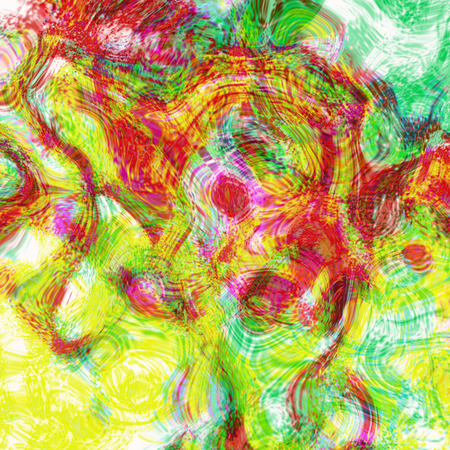 Background design of patterns and colors, dream in the dream fantasy abstract art. photo