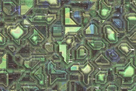 pipe dream: Digital signature technology Background design of patterns and colors, abstract fractal digital art.