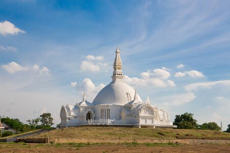 Wat bueng latthiwan White Church has made the contemporary aesthetic at Ayutthaya in Thailand.