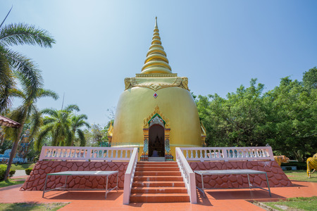 Pagoda - Buddha in Wat Chak Yai in Chanthaburi province east of thailand.