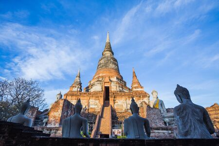 Wat Yai Chaimongkol temple is regarded as the most important historical sites and temples.The most popular temple in Ayutthaya province. Editorial