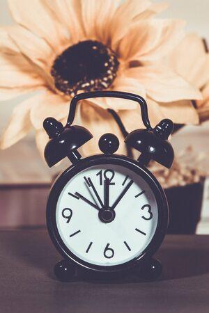 Alarm clock, vintage filter