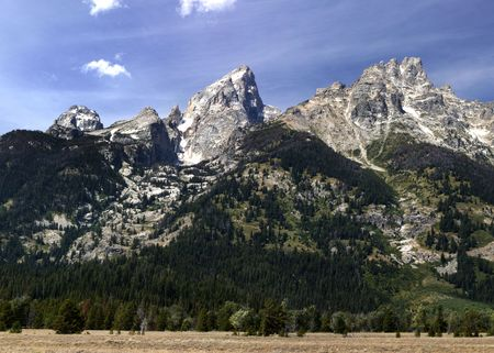 Grand Tetons near Jackson Wyoming photo