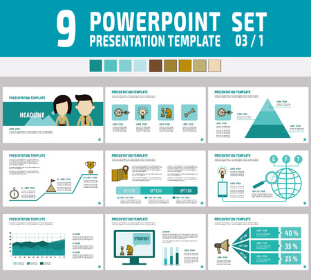 Set of powerpoint multipurpose business presentation template set of powerpoint multipurpose business presentation templatefographic element concepter layout toneelgroepblik Images