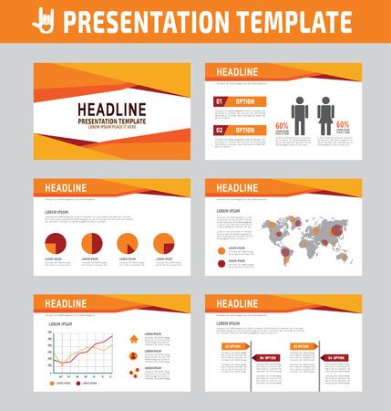 multipurpose: Set of multipurpose business presentation template