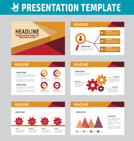 roadmap: collection of multipurpose business presentation template