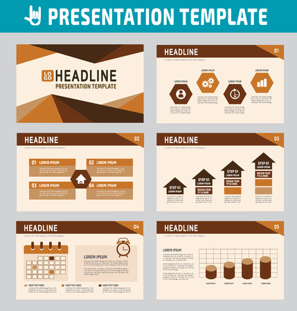 roadmap: collection of multipurpose presentation template