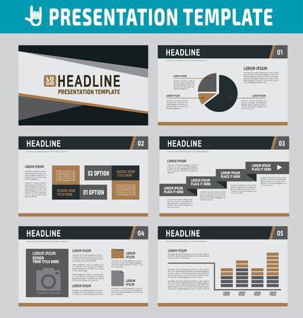 present presentation: collection of multipurpose presentation template