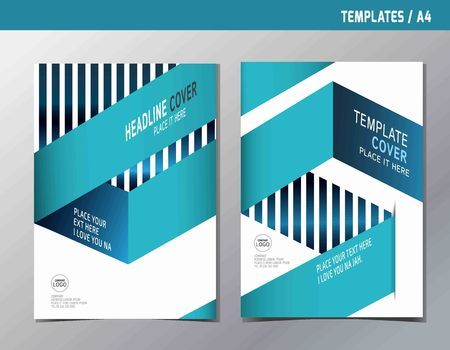 Abstract minimal design.vector background template A4 sizefor business annual brochure flyer poster report book cover