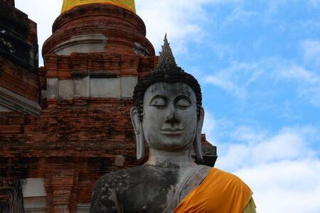 krung: Buddha Ayutthaya Thailand