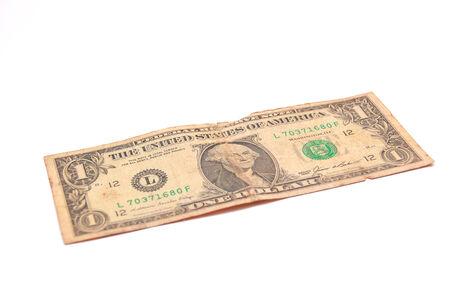 United States Dollar on a white background