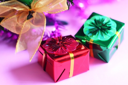 blissfully: Colorful gift boxes
