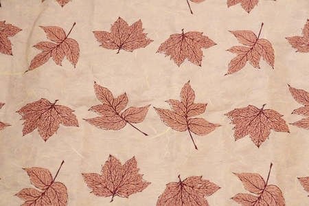 mulberry paper: pink mulberry paper natural Stock Photo
