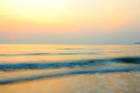 sunup: The light of the Sun in the morning on the beach