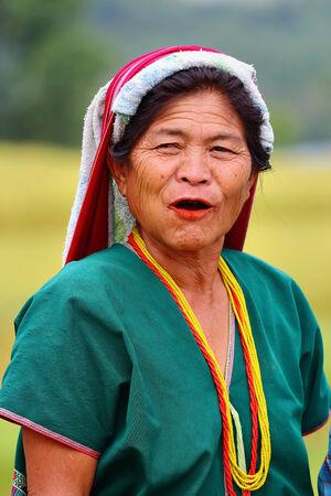 watershed: Chiang Mai, Thailand - October 18: Peace Karen in the watershed The Tenasserim Mountains Borders Thailand - Burma, at the Ban Mae Klang Luang in Chiang Mai, Thailand on October 18, 2014