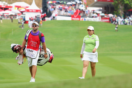 ranked: PATTAYA, THAILAND - March 2: Inbee Park of South Korea ranked 7 of the 2015 LPGA Thailand at Siam Country Club in Chonburi, Thailand on  March 2, 2015.