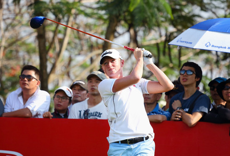 ranked: PATTAYA, THAILAND - March 2: Stacy Lewis of USA Ranked 4 of the 2015 LPGA Thailand at Siam Country Club in Chonburi, Thailand on  March 2, 2015.