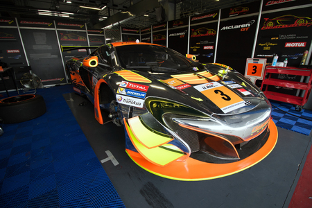 motorsports: Buriram,Thailand - January 10, 2016: Round 3 of the 2016 Asian Le Mans Series took place at the Chang International Circuit, in Buriram, Thailand. Editorial