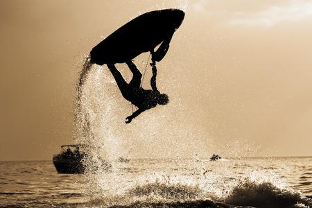 jetski: Jetski Freestyle, Silhouette