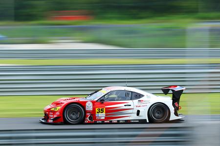 BURIRAM THAILAND - October 9: Super GT Series 2016 round 7 in Thailand at Chang International Circuit in Buriram United, on October 7-9, 2016 at the Buriram, Thailand