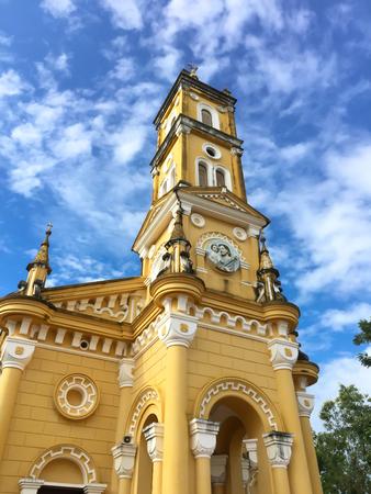St. Joseph church in Ayuttaya, Thailand Stock Photo
